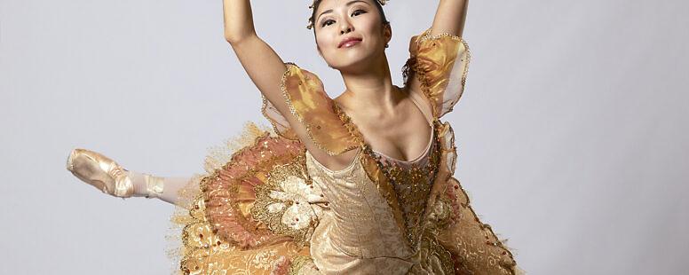 Ballerina Princess – Saki Morimoto – Studio Photoshoot