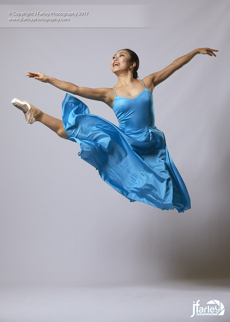 Saki Morimoto - Ballet Dancer - Studio Photoshoot